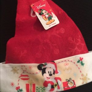 Kids, NWT red Mickey Mouse Santa Hat!